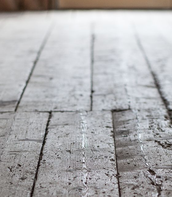 Over 100 years old planks - strong and real