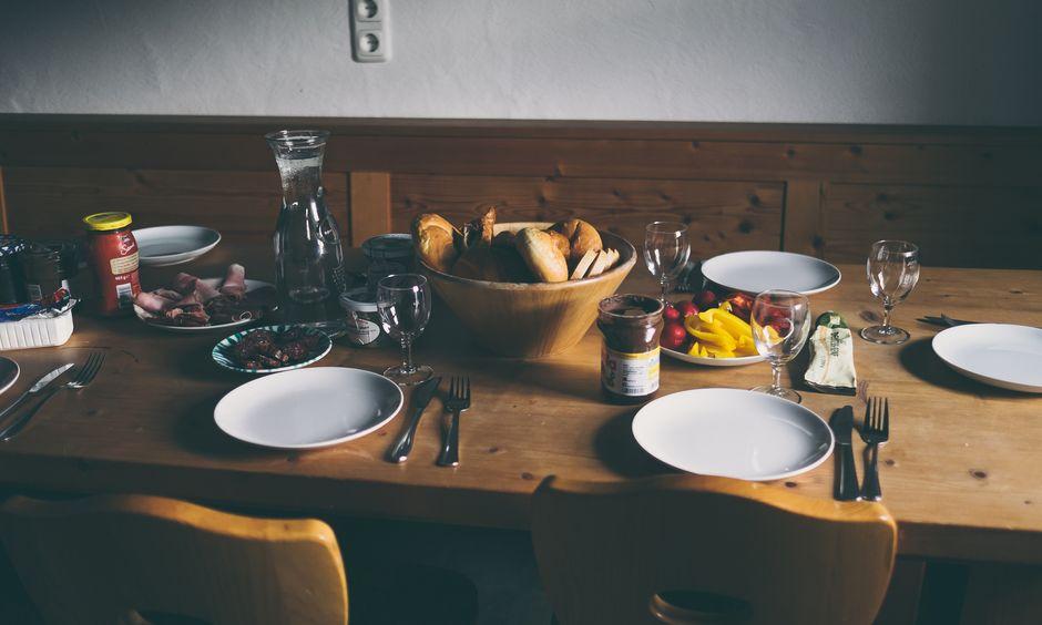 Mesnerhof-Chalet dining room