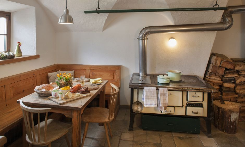 farmer´s kitchen in the Chalet